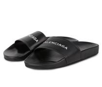 Sandalen POOL - schwarz