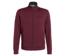 Sweatjacke SKAZ - bordeaux
