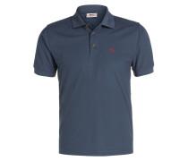 Piqué-Poloshirts CROWLEY - graublau