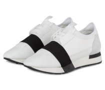 Sneaker RACE RUNNERS - weiss/ schwarz