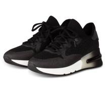 Plateau-Sneaker KRUSH GLITTER - SCHWARZ