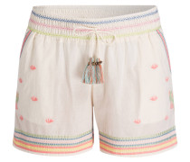 Shorts BLOOM EMBROIRDERY - weiss