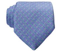 Krawatte - violett/ hellblau