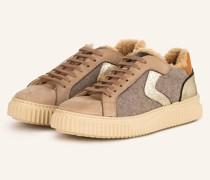 Plateau-Sneaker LIPARI - TAUPE/ BEIGE