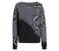 Sweatshirt - schwarz/ dunkelgrau/ grau