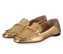 Loafer JANE - gold