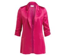Satin-Blazer - pink