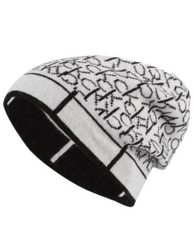 Mütze - schwarz/ weiss