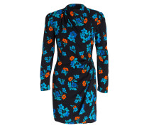 Kleid RIPITA - marine/ orange/ blau