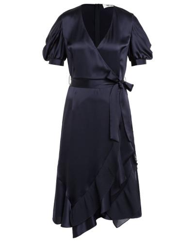 Kleid ANSLEY in Wickeloptik