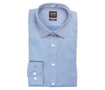 Hemd Level Five body fit - blau