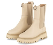 Chelsea-Boots GROOV-Y - CREME