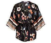 Kimono - schwarz/ orange
