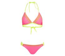 Triangel-Bikini RAINBOW - pink