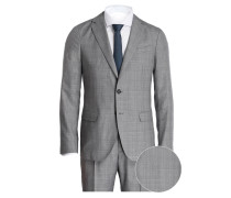 Anzug Tailored-Fit - grau