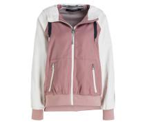 Blouson - rosé/ ecru/ dunkelgrau