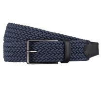 Flechtgürtel - blau