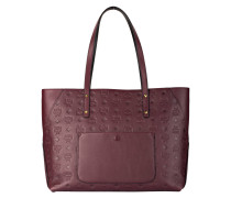 Shopper KLARA MONOGRAMMED - bordeaux