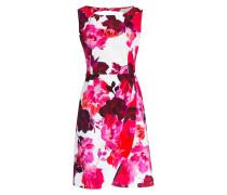 Kleid ALICE - ecru/ pink/ rot