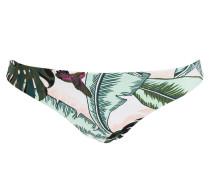 Bikini-Hose PALM BEACH - grün/ weiss/ rosa