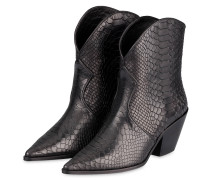 Cowboy Boots EASTON - SCHWARZ
