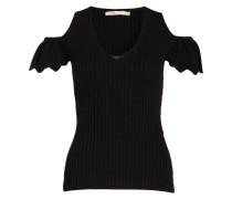 Strickshirt MARION - schwarz