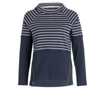 Sweatshirt SEABURN - navy/ grau gestreift