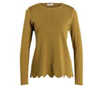 Pullover - senfgelb