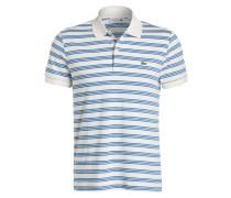 Jersey-Poloshirt Regular-Fit - weiss