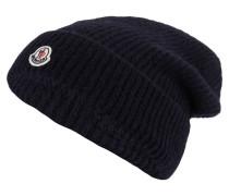Mütze mit Alpaka-Anteil - marine