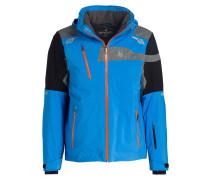 Skijacke TITAN - blau/ schwarz