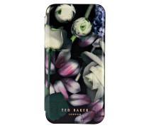 iPhone-Hülle - grün/ rosa
