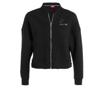Sweatjacke AIR RALLY - schwarz