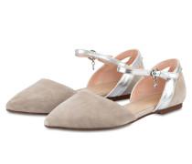 Ballerinas - grau/ silber