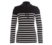 Pullover MAURINE - schwarz/ weiss