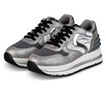Plateau-Sneaker MARAN - GRAU/ DUNKELGRAU