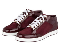 Sneaker MIAMI - bordeaux