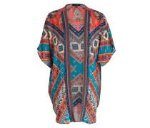 Kimono FAY - türkis/ rot/ beige