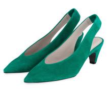 Slingpumps SELMA - grün