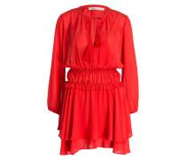 Kleid RULLA - rot