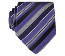 Krawatte - violet/ grau