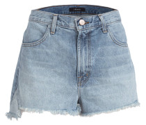 Jeans-Shorts - hydra blau