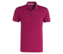 Piqué-Poloshirt - lila
