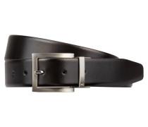 Wendegürtel - schwarz/ braun