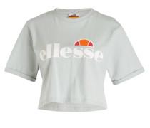 Cropped-Shirt ALBERTA - mint
