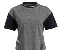 T-Shirt - grau/ schwarz