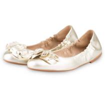 Ballerinas BLOSSOM - gelb