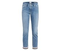 7/8-Jeans LIU mit Perlenbesatz