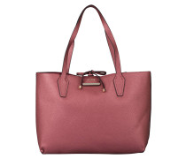 Wendeshopper BOBBI - bordeaux metallic