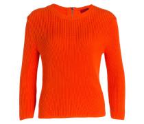 Strickpullover SITINA - orangerot